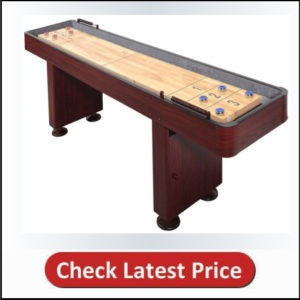 Blue Wave Shuffle Board 9 Inch in Dark Cherry
