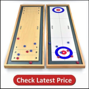Go-Sports Shuffleboard 2 in 1 Table