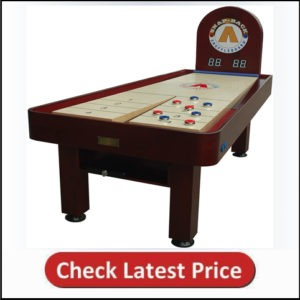 Snap-Back Tavern Shuffleboard Table