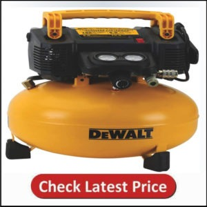 DEWALT Pancake Air Compressor, 6 Gallon