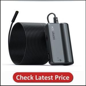 DEPSTECH 1200P Semi-rigid Wireless Endoscope