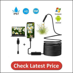 7mm USB Endoscope Inspection Camera