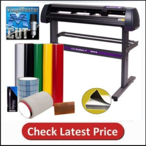 Vinyl Cutter US Cutter MH 34in Bundle