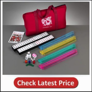 Brand New American Mahjong Set in Burgundy Bag