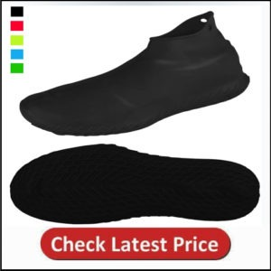 LEGALITY Reusable Silicone Waterproof Shoe Covers