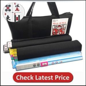 Mose Cafolo~ American Mahjong Set - Black Paisley Soft Bag