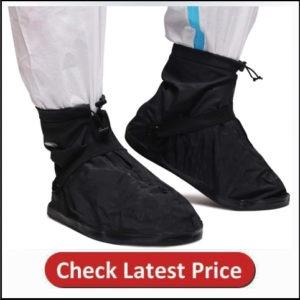 SZAT PRO Waterproof Rain Shoe Cover Boot-3XL Black