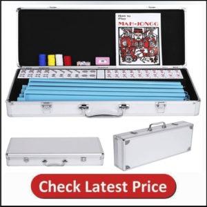 Yaheetech American Mahjong Set Mah Jongg Sets