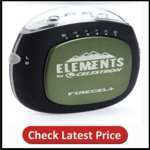 Celestron FireCel Plus - Hand Warmer/Charger/Flashlight, Green (93544)