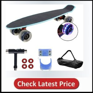 Geelife 22 Complete Mini Cruiser Skateboard