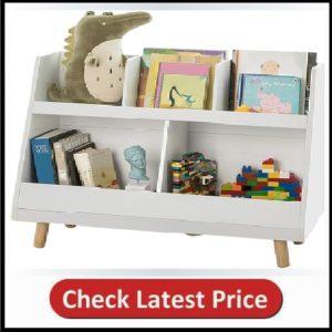 Haotian White Children Kids Bookcase
