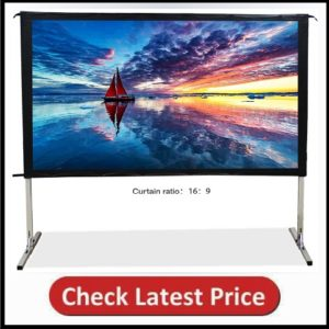 SW-LAMP Indoor Outdoor Projector Screen