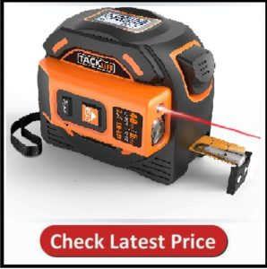 Tacklife Laser Tape Measure with LCD
