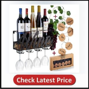 Anna Stay Wall Mounted Wine Rack