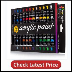 Colore Acrylic Paint Set
