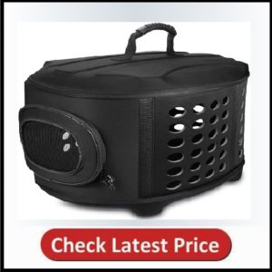FRIEQ 23-Inch Large Hard Cover Pet Carrier