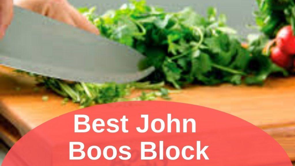 Best John Boos Block