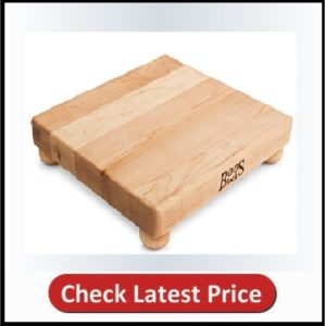 John Boos Block B12S Maple Wood Edge Grain Cutting Board