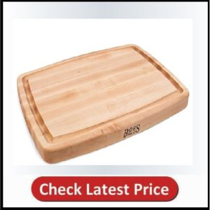John Boos Block CB1050-1M2014150 Maple Wood Oval Cutting Board