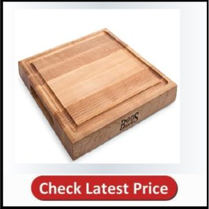 John Boos Block CB1052-1M1212175 Maple Wood Square Cutting Board