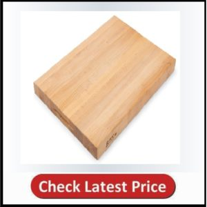 John Boos Block RA03 Maple Wood Edge