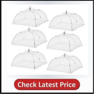 Esfun Large Pop-Up Mesh Screen Food Cover Tent Umbrella