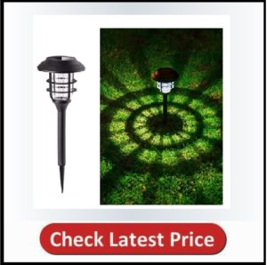 GIGALUMI 8 Pcs Outdoor Solar Lights