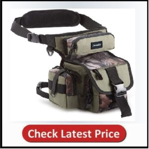 Jueachy Drop Leg Bag for Men Metal Detecting Pouch