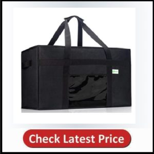 KIBAGA Premium Insulated Food Delivery Bag XXL