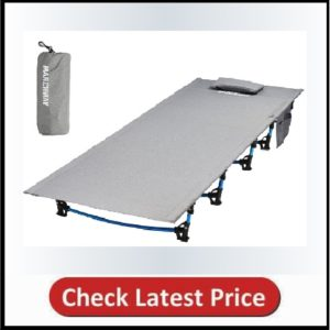 MARCHWAY Ultra-Light Folding Tent Camping Cot Bed