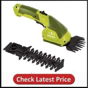 Sun Joe Cordless 2-in-1 Grass Trimmer and Shear