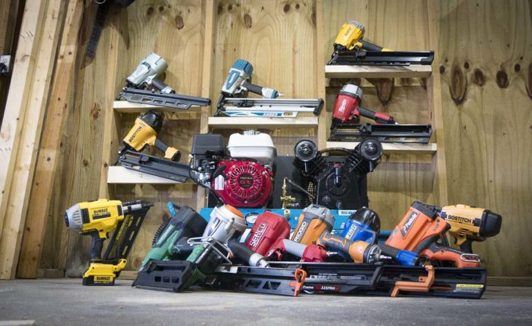 What Degree Nail Gun is Best for Framing ?