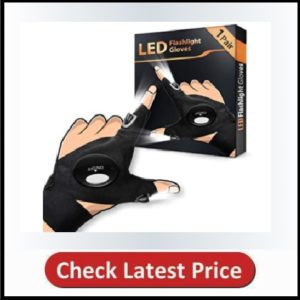 HANPURE LED Flashlight Gloves