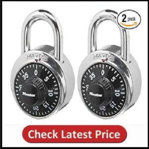 Master Lock 1500T Locker Lock Combination Padlock