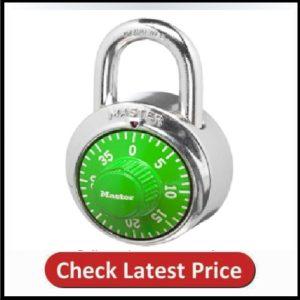 Master Lock 1505D Locker Lock Combination Padlock