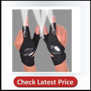 Mylivell LED Flashlight Gloves