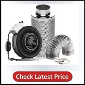 VIVOSUN 6 Inch 440 CFM Inline Fan with Speed Controller